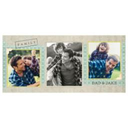 Thumbnail for Stainless Steel Photo Travel Mug, 14oz with Family Scrapbook design 2