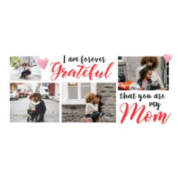 Thumbnail for Stainless Steel Photo Travel Mug, 14oz with Grateful Mom design 2