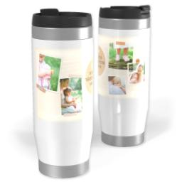 Thumbnail for Premium Tumbler Photo Travel Mug, 14oz with Mom is Home design 1