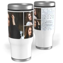 Thumbnail for Stainless Steel Tumbler, 14oz with Wonderous Future design 1