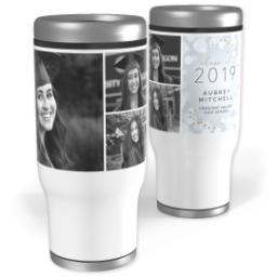 Thumbnail for Stainless Steel Tumbler, 13oz with Wondrous Future design 1