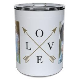 Thumbnail for Insulated Coffee Mug, 11oz with Arrow Love design 2