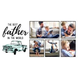 Thumbnail for Premium Tumbler Photo Travel Mug, 14oz with Best Father design 2