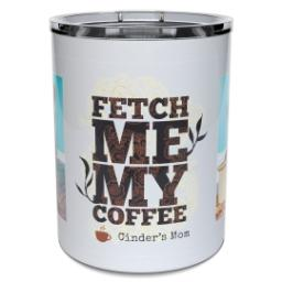Thumbnail for Insulated Coffee Mug, 11oz with Fetch design 2