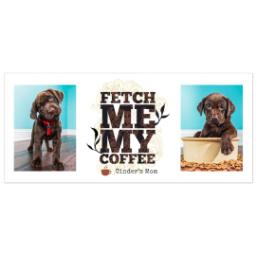 Thumbnail for Insulated Coffee Mug, 11oz with Fetch design 5