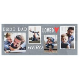 Thumbnail for Stainless Steel Photo Travel Mug, 14oz with Loved Hero design 2