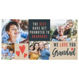 Thumbnail for Premium Tumbler Photo Travel Mug, 14oz with We Love You Grandad design 2
