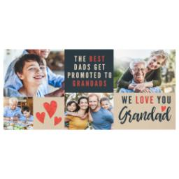 Thumbnail for Stainless Steel Photo Travel Mug, 14oz with We Love You Grandad design 2