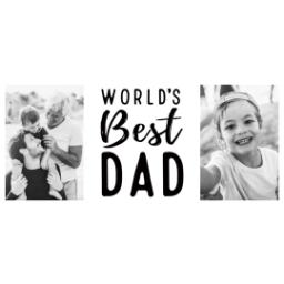 Thumbnail for Premium Tumbler Photo Travel Mug, 14oz with World's Best Dad design 2