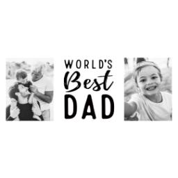 Thumbnail for Stainless Steel Photo Travel Mug, 14oz with World's Best Dad design 2