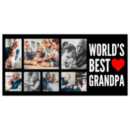 Thumbnail for Premium Tumbler Photo Travel Mug, 14oz with World's Best Grandpa design 2