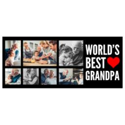 Thumbnail for Stainless Steel Photo Travel Mug, 14oz with World's Best Grandpa design 2
