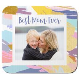 Thumbnail for Ultra Thin Rectangle Mouse Pad with Colorful Mom design 1
