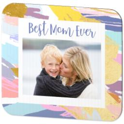 Thumbnail for Ultra Thin Rectangle Mouse Pad with Colorful Mom design 2