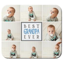 Thumbnail for Ultra Thin Rectangle Mouse Pad with Best Grandpa design 1