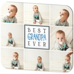 Thumbnail for Ultra Thin Rectangle Mouse Pad with Best Grandpa design 2