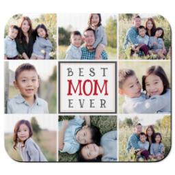 Thumbnail for Ultra Thin Rectangle Mouse Pad with Best Mom design 1