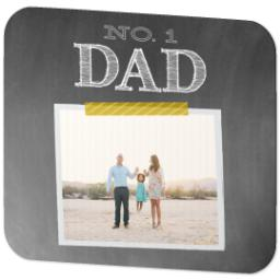Thumbnail for Ultra Thin Rectangle Mouse Pad with Chalkboard Dad design 2