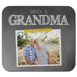 Thumbnail for Ultra Thin Rectangle Mouse Pad with Chalkboard Grandma design 1