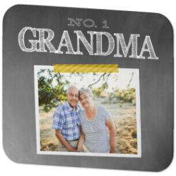 Thumbnail for Ultra Thin Rectangle Mouse Pad with Chalkboard Grandma design 2