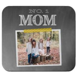 Thumbnail for Ultra Thin Rectangle Mouse Pad with Chalkboard Mom design 1
