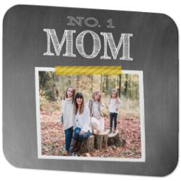 Thumbnail for Ultra Thin Rectangle Mouse Pad with Chalkboard Mom design 2