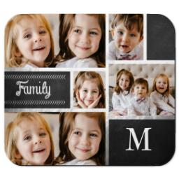Thumbnail for Mouse Pad with Family Chalkboard design 1