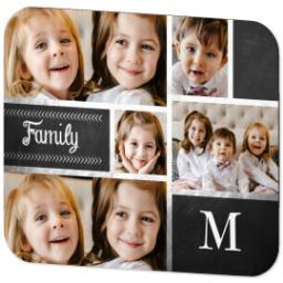 Thumbnail for Mouse Pad with Family Chalkboard design 2
