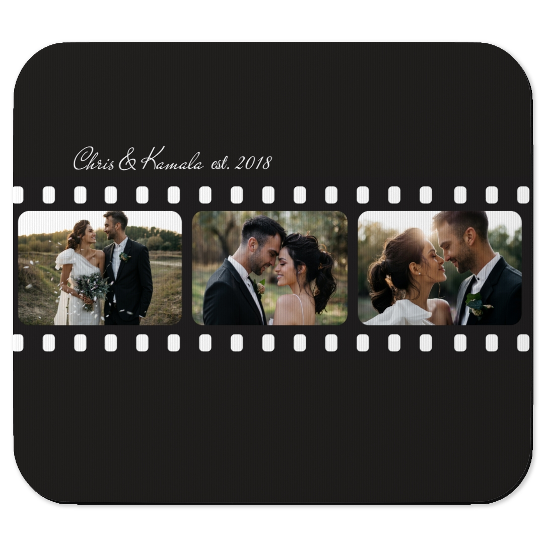 Gives your table or desk a vibrant, fresh look with this custom mouse pad. With your favorite picture printed on it, not only does the pad cover the desktop, but it may also function as a reminder of a favorite moment!