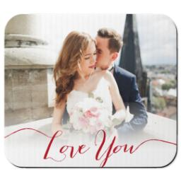 Thumbnail for Mouse Pad with Love You Forever design 1