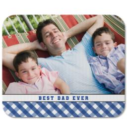 Thumbnail for Mouse Pad with Classic Best Dad design 1