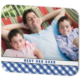 Thumbnail for Mouse Pad with Classic Best Dad design 2