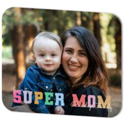 Thumbnail for Mouse Pad with Pastel Super Mom design 2