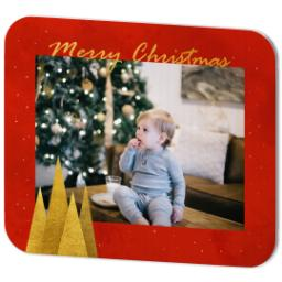Thumbnail for Mouse Pad with Sparkling Gold Christmas design 2