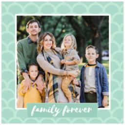 Thumbnail for Poster, 12x12, Glossy Poster Paper with Forever Family design 1