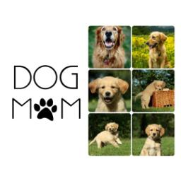 Thumbnail for Photo Water Bottle, 20oz with Dog Mom design 2