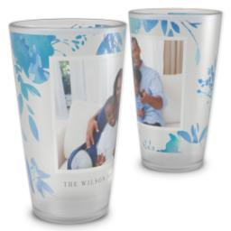 Thumbnail for Pint Glass with Tiffany Blue China design 2