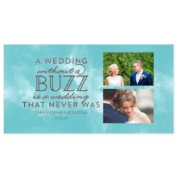 Thumbnail for Pint Glass with Wedding Buzz design 3
