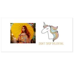 Thumbnail for Shot Glass with Believe In Unicorns design 3
