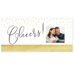 Thumbnail for Shot Glass with Sparkled Cheers design 3