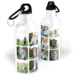 Thumbnail for Photo Water Bottle, 20oz with Round Square Collage For Twelve design 1