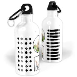 Thumbnail for Photo Water Bottle, 20oz with The Minimalist design 1