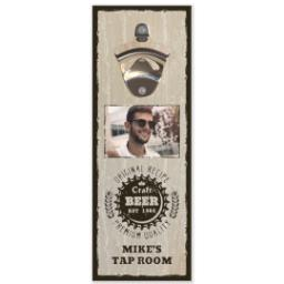 Thumbnail for Wall Mounted Bottle Opener with Craft Beer design 1