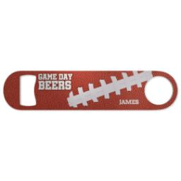 Thumbnail for Bottle Opener with Game Day design 1