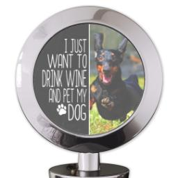 Thumbnail for Bottle Stopper with Pet My Dog design 4