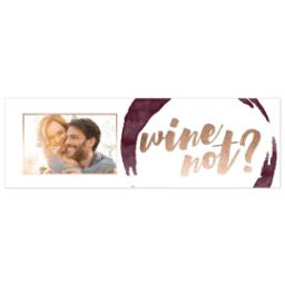 Thumbnail for Stainless Steel Wine Tumbler with Wine Not design 4