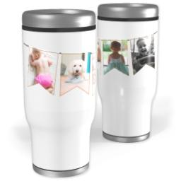 Thumbnail for Stainless Steel Tumbler, 14oz with A Mom's Memories design 1