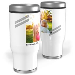Thumbnail for Stainless Steel Tumbler, 14oz with Angled design 1