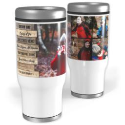 Thumbnail for Stainless Steel Tumbler, 14oz with Bless Your Heart design 1