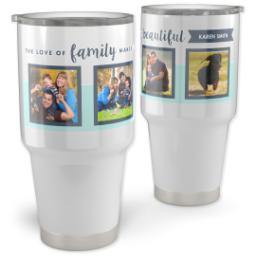 Thumbnail for 30oz Vacuum Travel Tumbler with Creative Inspiration design 1